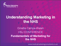HSJ NHS Marketing Conference